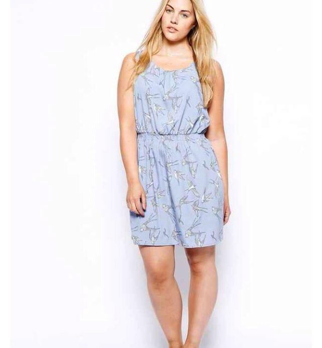 New look inspire bird print dress - ASOS