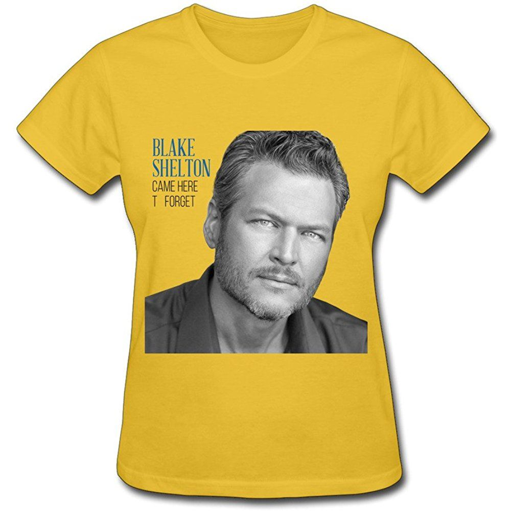 Blake Shelton Came Here To Forget Woman Comfy T Shirt Black