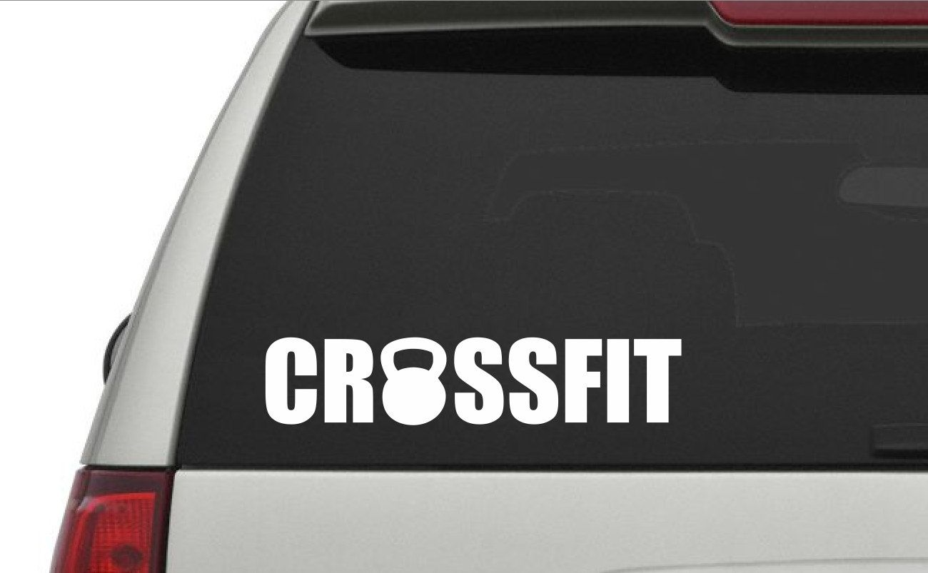 Crossfit Decal Choose Size Fitness Gifts Silhouette Projects Crossfit [ 803 x 1300 Pixel ]