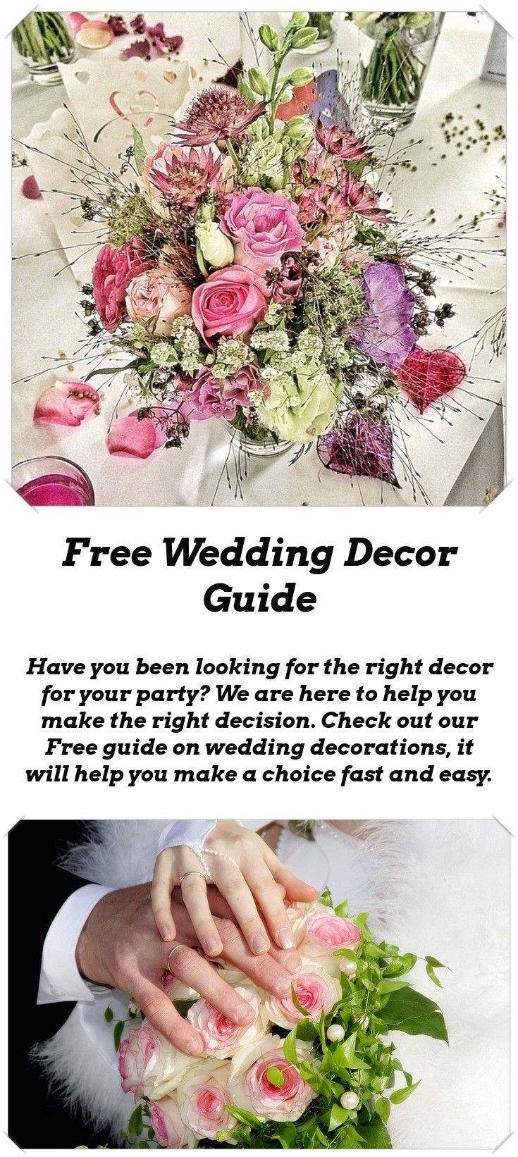 Wedding decorations to make  Decoration Ideas For Your Wedding  Wedding Decor Inspiration