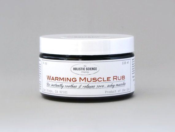 Warming Muscle Rub Enriched With Cayenne Pepper Camphor Turmeric