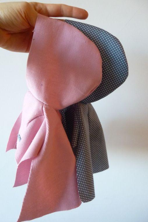 Le Petit Manteau de Poupée, Tutoriel, Version A, B, C
