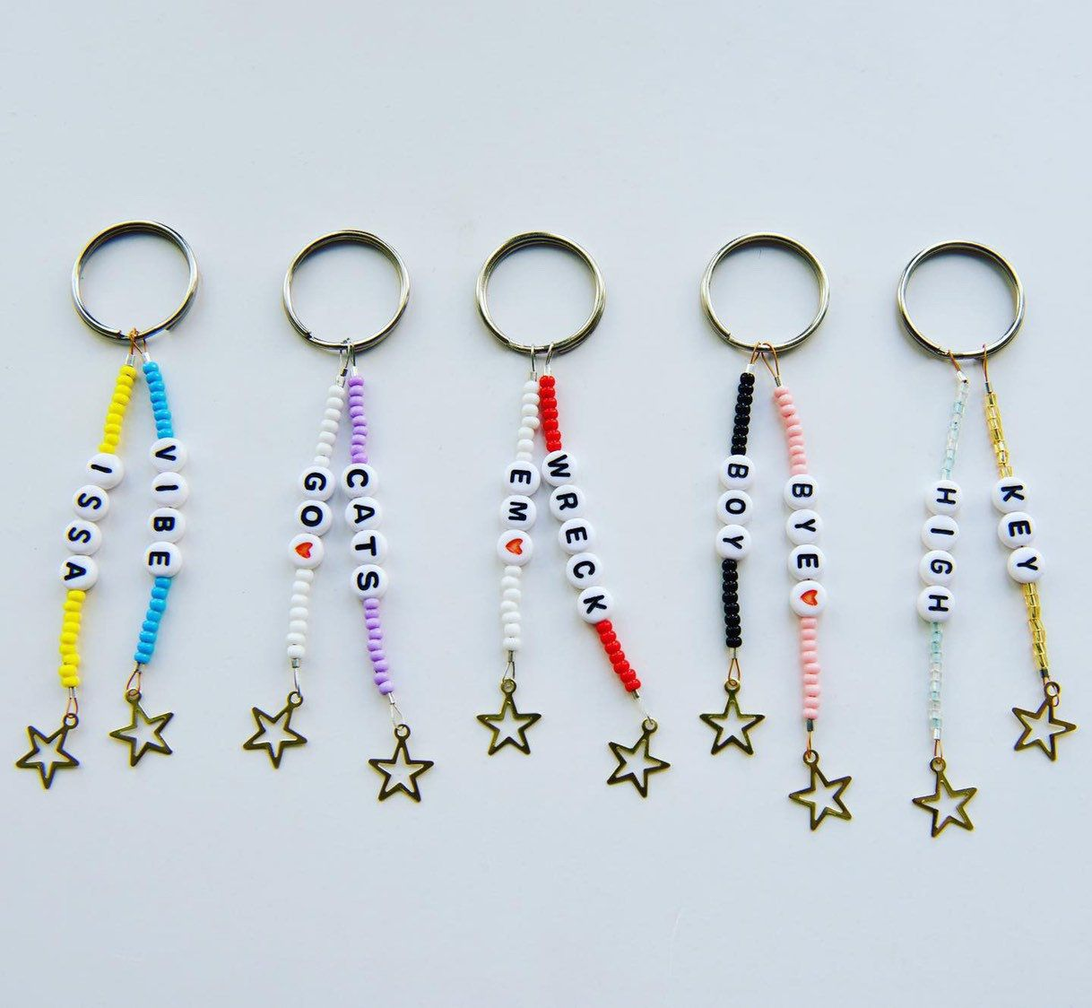 Photo of Personalized Double Trouble Keychain Collection || Custom Ke