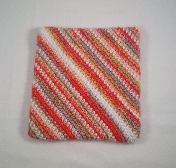 Crochet Hot Pad crochet potholder Handmade by AlwaysStitches