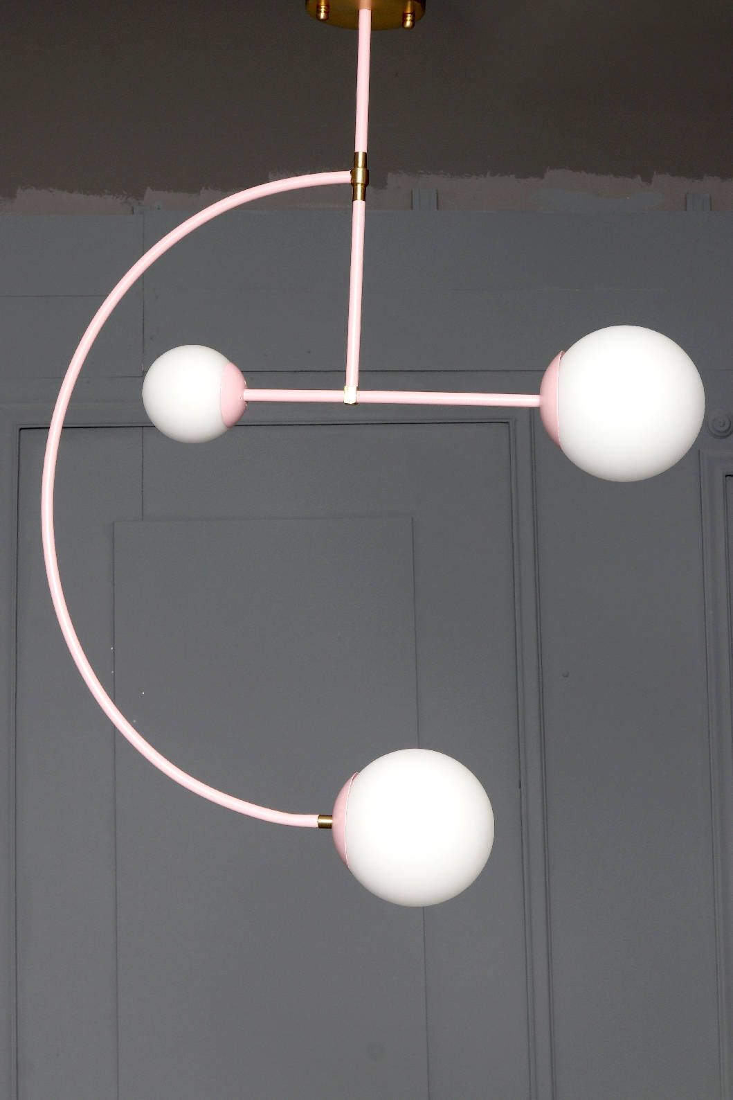 restoration industrial pendant lighting. MOON Handmade Pendant Light Minimal Geometric Chandelier Edison Restoration Industrial Style Cage By LightCookie On Etsy Lighting I