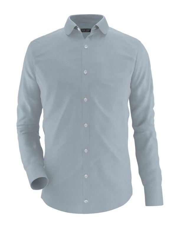 Men's shirt - Milano, gray @tailorstore.com #style #menswear