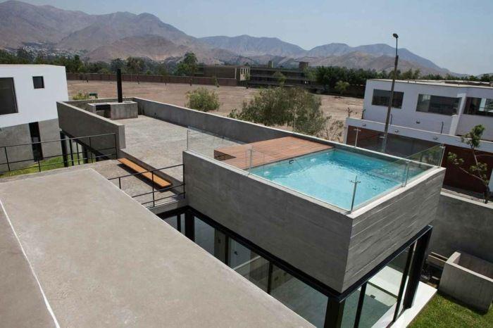 Schwimmbad in quadratischer Form auf dem Dach | Palma | Pinterest ...