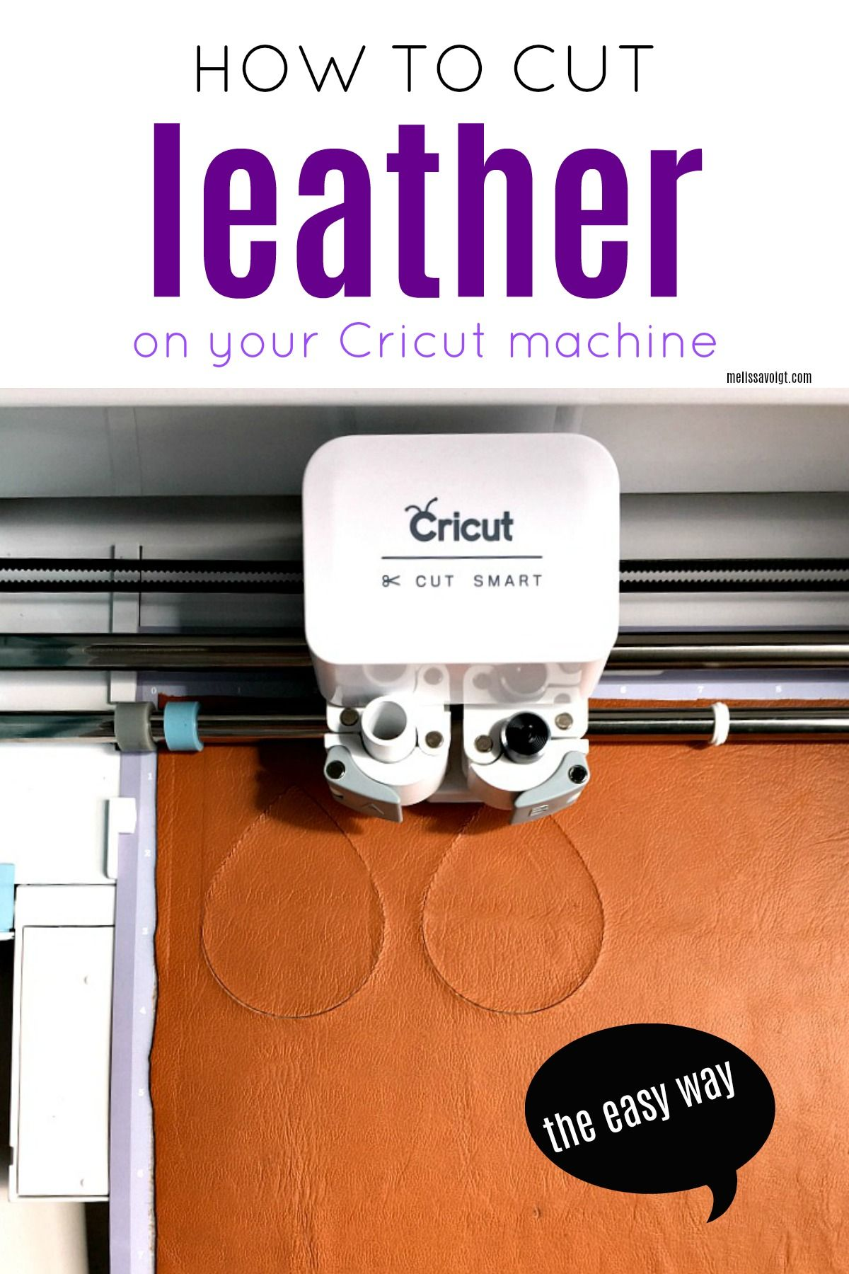 Photo of HOW TO CUT LEATHER ON YOUR CRICUT THE EASY WAY! — Melissa Voigt