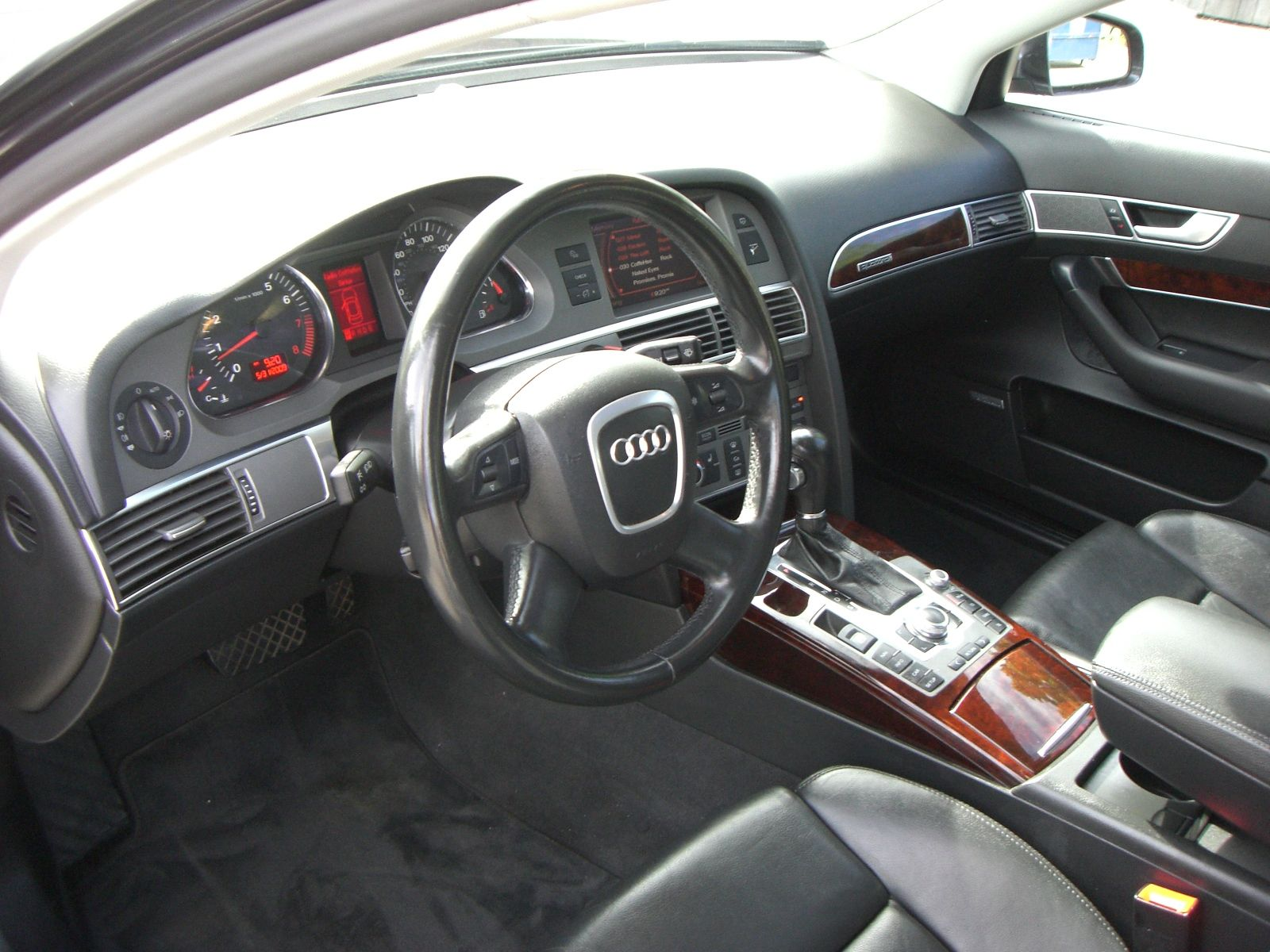 interior audi a6 c6. Black Bedroom Furniture Sets. Home Design Ideas