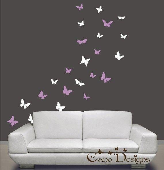 Best 25 purple kids rooms ideas on pinterest purple for Childrens butterfly bedroom ideas