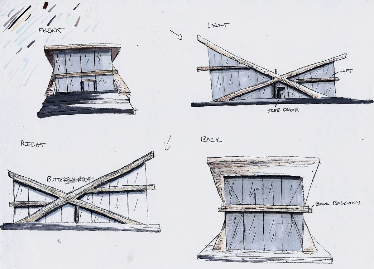 Butterfly Roof Concept