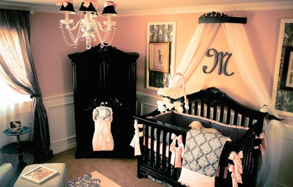 Crib canopy crown ranked first place on HGTV by PrincessCanopyShop, $132.00, like monogram/name underneath