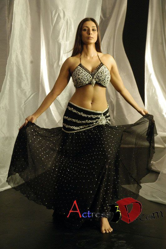 Neckender Tanz von der indischen MILF