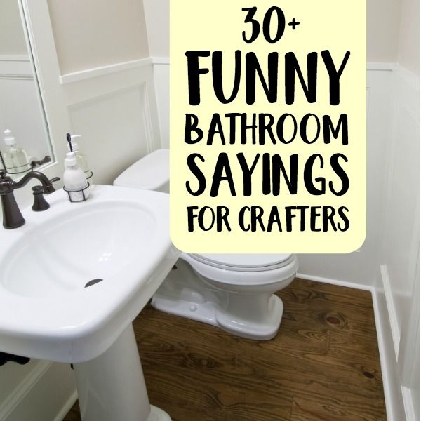 Photo of 30+ Funny Bathroom Sayings for Crafters – Cutting for Business