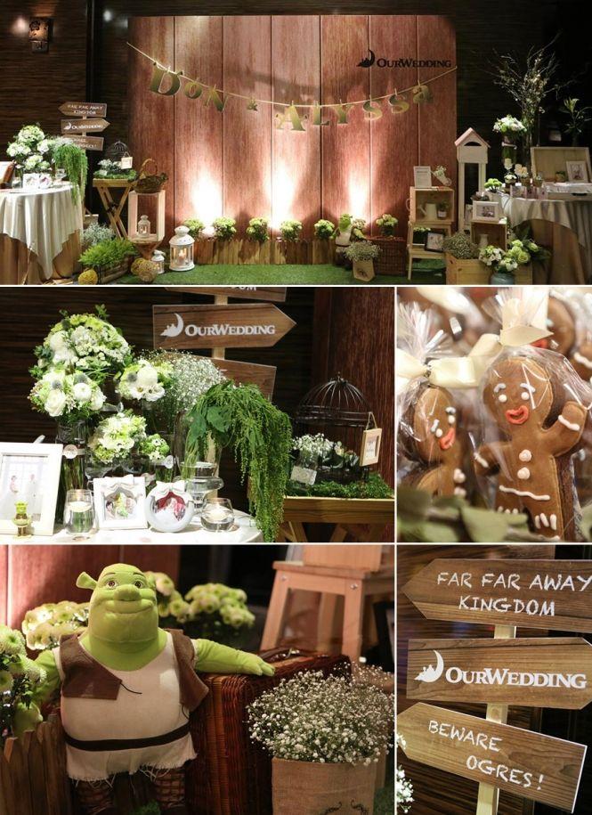 Shrek Themed Wedding Decor Shrek Wedding Shrek Bday Party Theme
