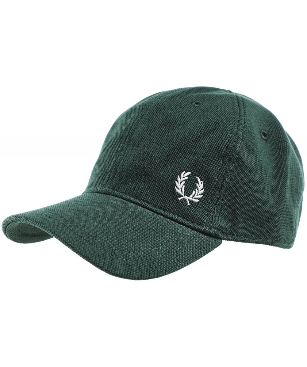 6b4b32e3 FRED PERRY PIQUE CLASSIC CAP HW3650 406 COLOUR: GREEN. #fredperry ...