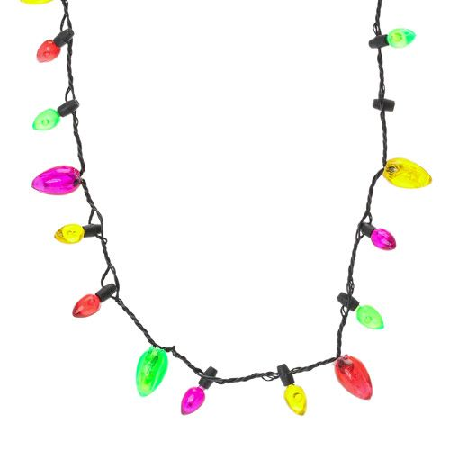 Christmas Light Necklace.Light Up Christmas Necklace Light Up Christmas Necklace
