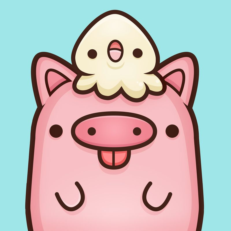 We Are Squidpig Wwwsquidandpigcom By Squidpig Kawaii Pig