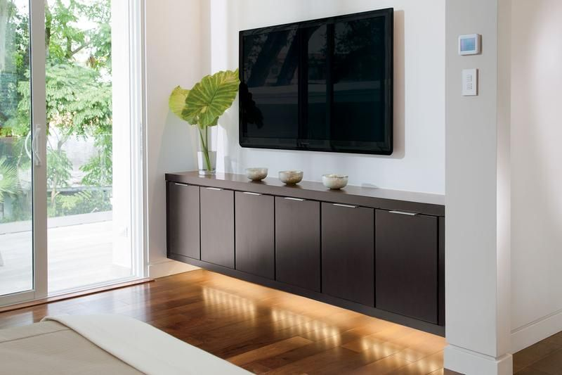 10 Modern Floating Media Cabinet For the Living Room - Rilane ...