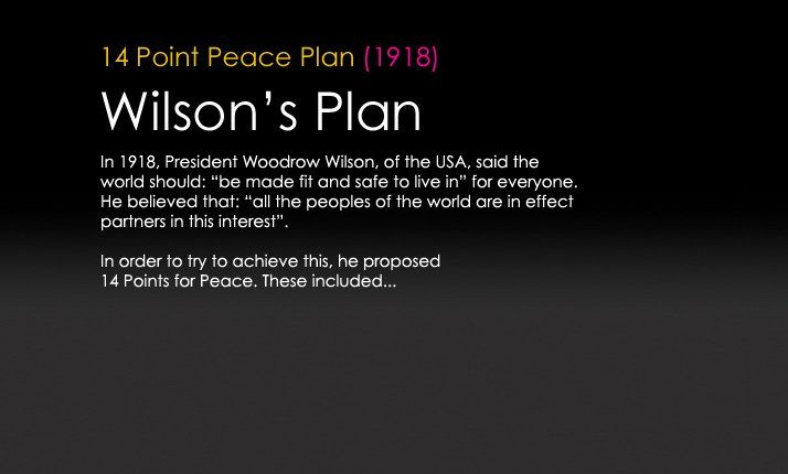 President woodrow wilsons 14 point peace plan education stuff president woodrow wilsons 14 point peace plan fandeluxe Choice Image