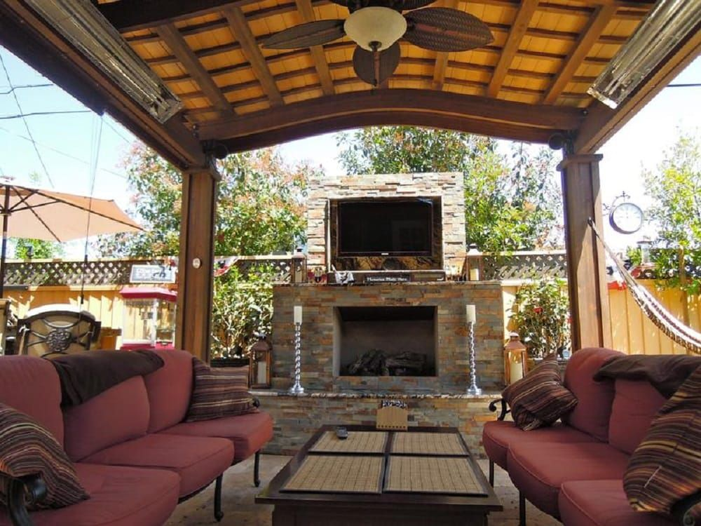Photo Of Unlimited Outdoor Kitchen San Jose Ca United States Our Outdoor Living Space In Our Showroom Pergola Outdoor Pergola Outdoor Kitchen