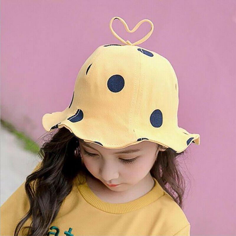 Little Toddler Girl Boy Summer Baby Reversible Baseball Cap Infant Sun Hat 0-18