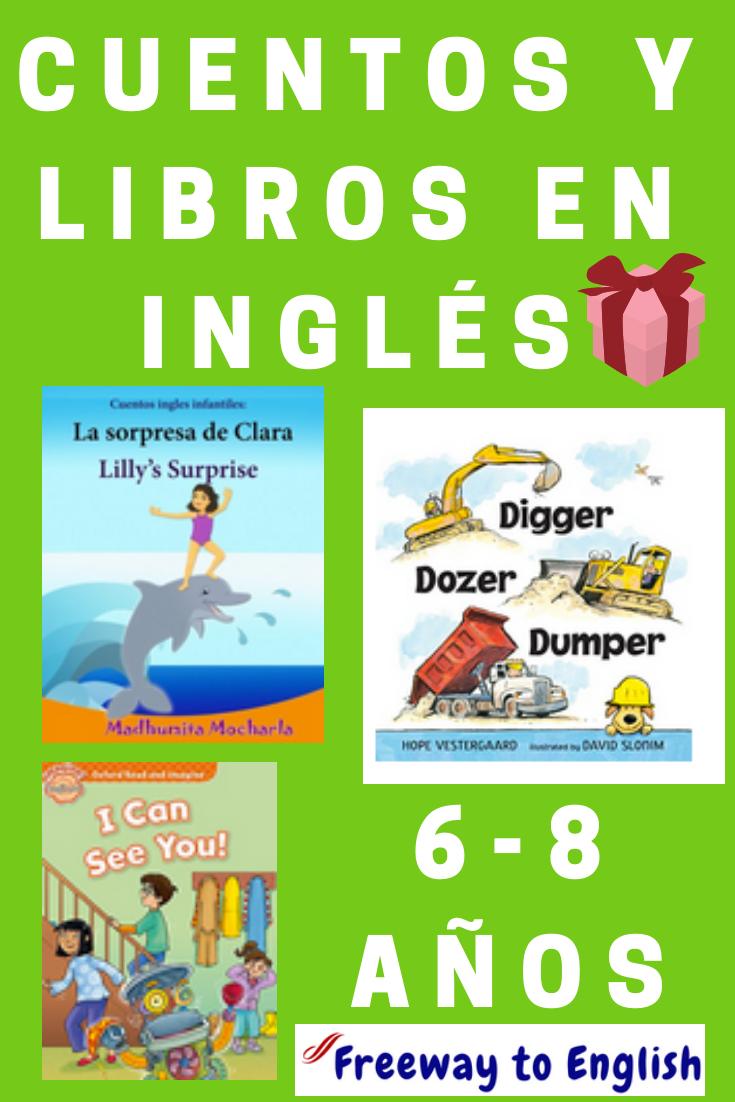 Cuentos Y Libros En Inglés Para Niños De 6 A 8 Años Clasificados Por Tipo Y Tema Excelente Regalo De Cumpleaños Regalo Niño 6 Años Inglés Para Niños Libros