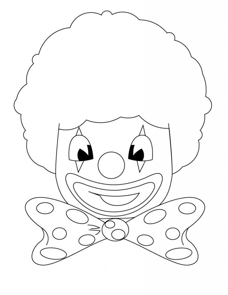 Free Printable Clown Coloring Pages For Kids Coloring Pages Cute Coloring Pages Coloring Pages For Kids
