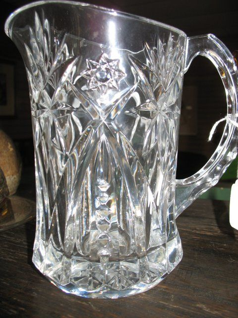 crystal dinnerware | Crystal, Star of David, Pitcher For Sale | Antiques.com | Classifieds