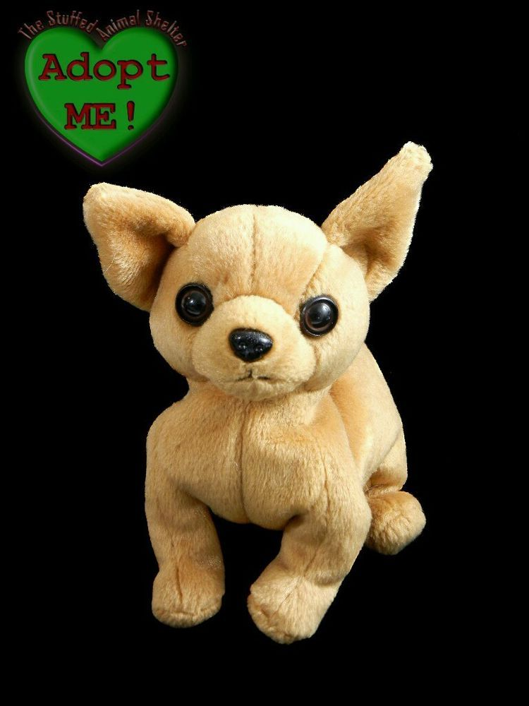 Ty Beanie Babies Stuffed Plush Brown Chihuahua Puppy Dog Tiny 1999  Ty  Brown Chihuahua 29f970eec0f