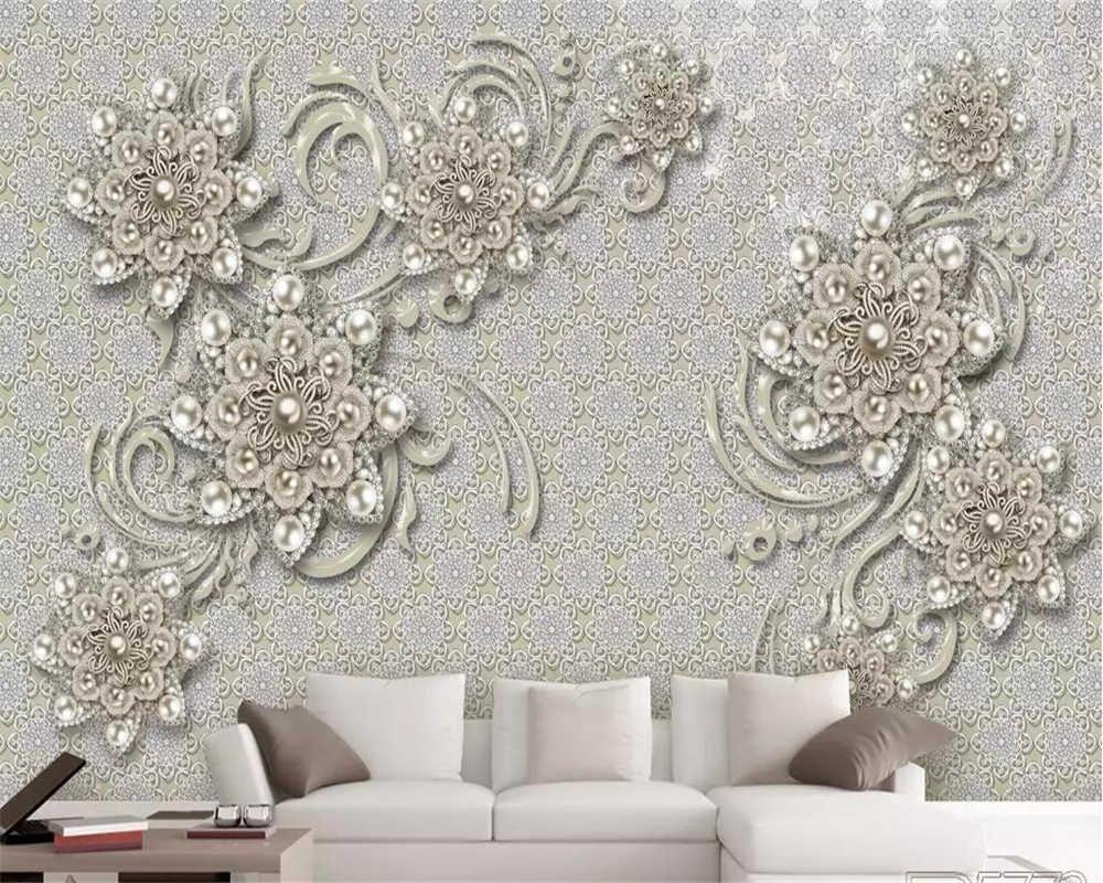 Beibehang Custom Wallpapers 3d New European Style Living