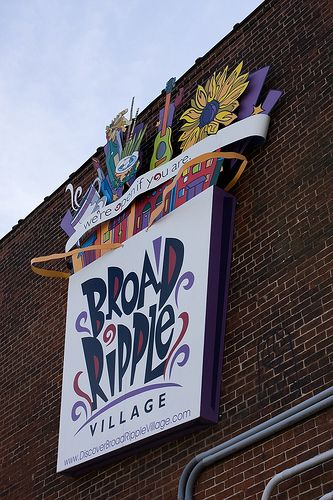 Broad Ripple Village Indianapolis In Midwest Travel Indianapolis Indiana Indianapolis