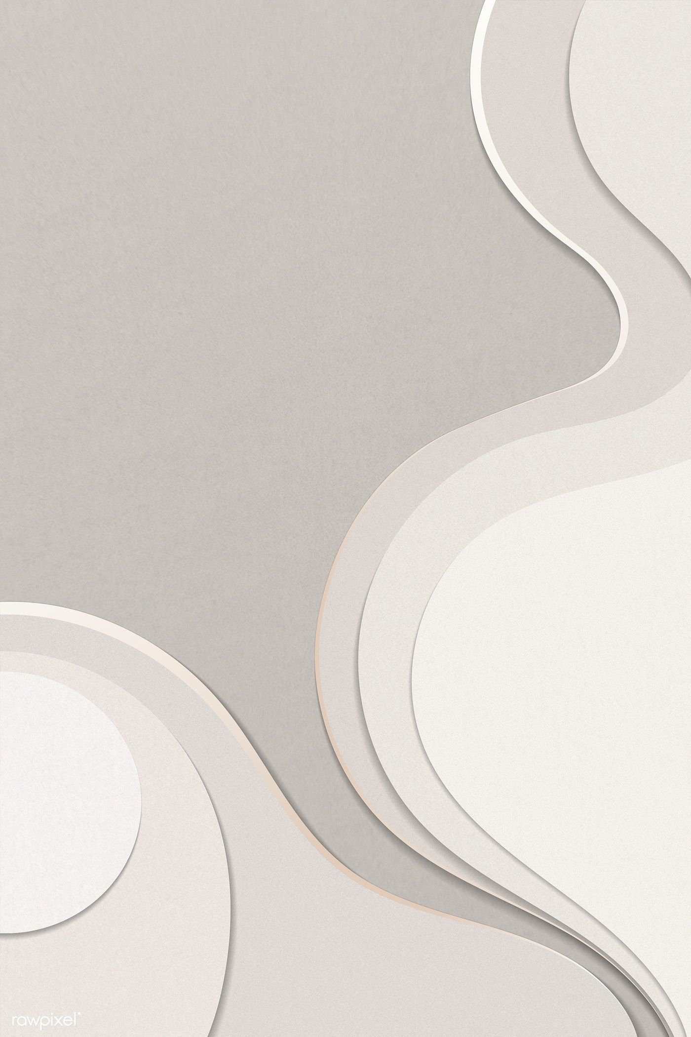 Download premium illustration of Abstract beige curve