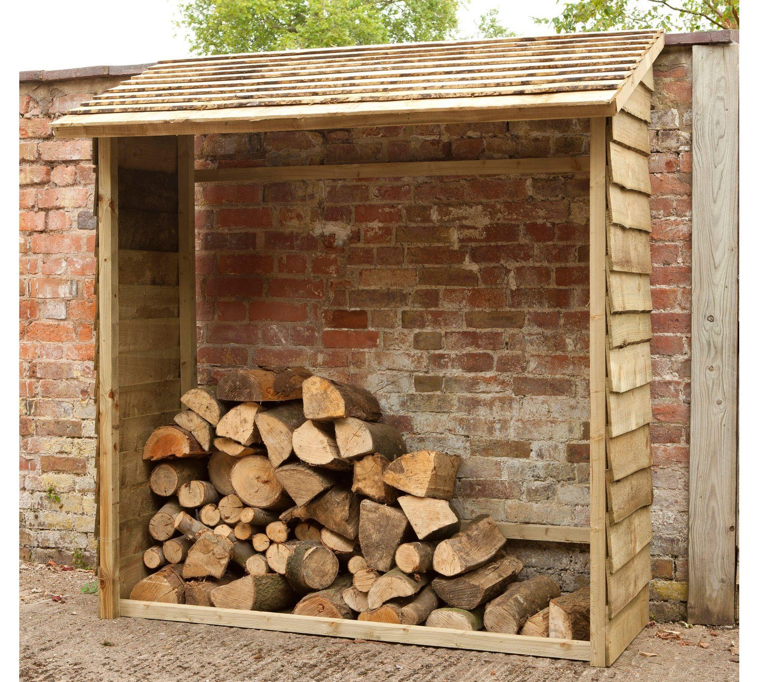 Buy Forest Garden Wall Log Store at Argos.co.uk Your