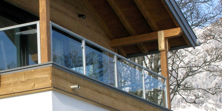 glasbalkon balkon pinterest aussen balkongel nder und balkon. Black Bedroom Furniture Sets. Home Design Ideas