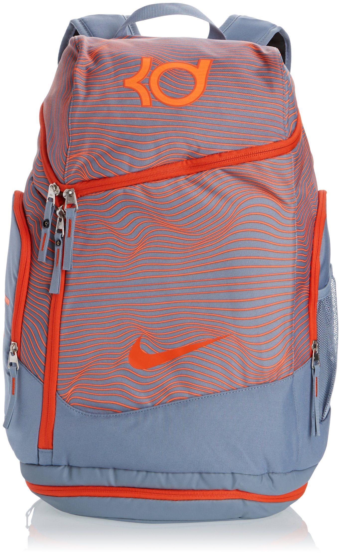 Nike KD Max Air Back Pack Magnet Grey/Team Orange BA4853-078