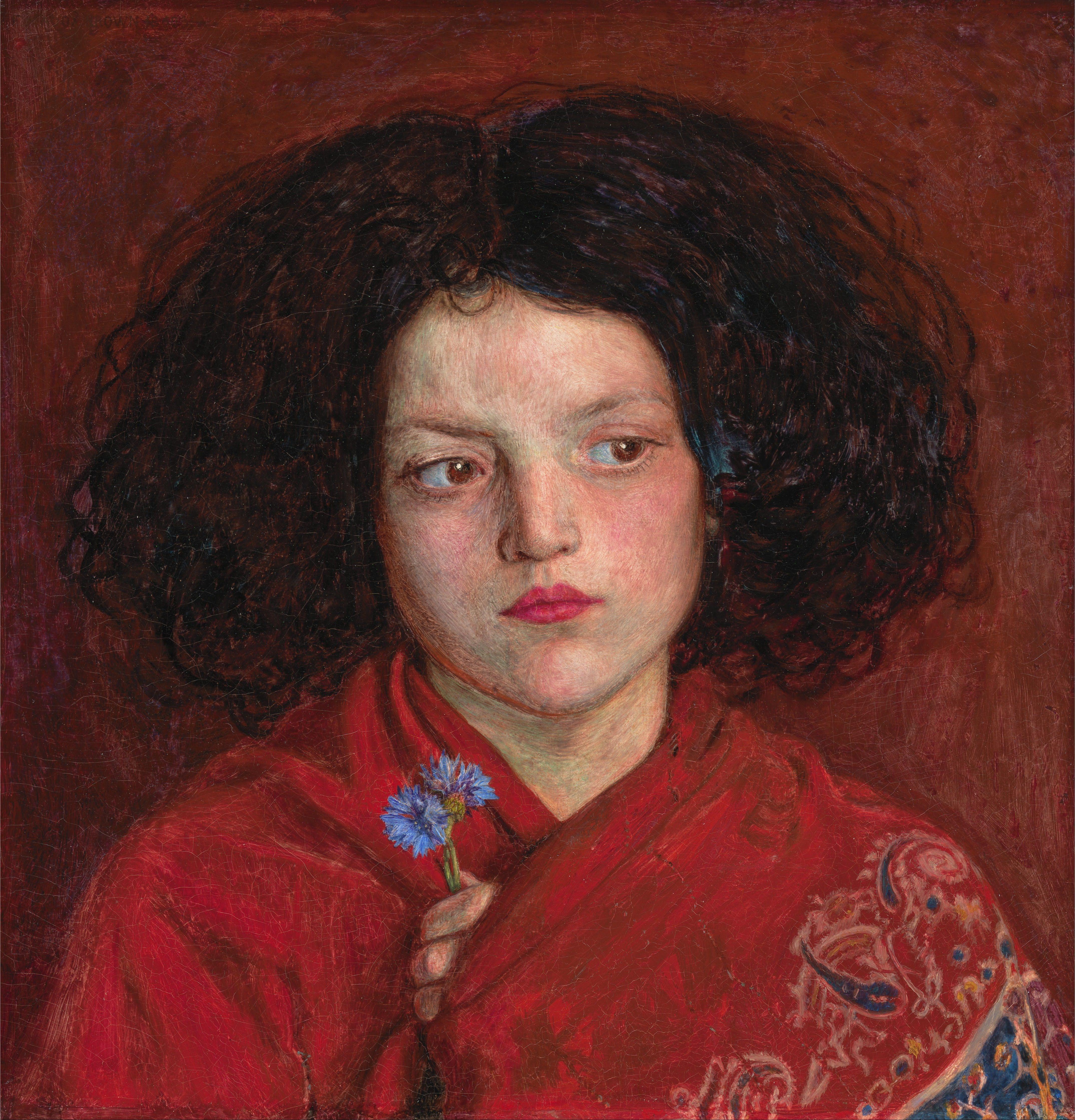 Ford Madox Brown : The Irish Girl (1860) — Giclee Fine