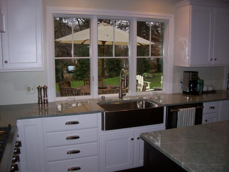 Kitchen Window Is Even With Counter Top Google Search Kitchen Window Sill Kitchen Sink Window Window Over Sink