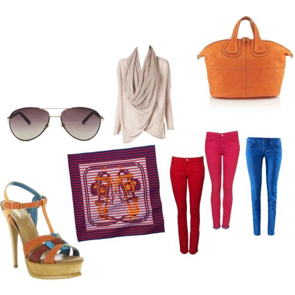 what's in : colored pants !!!, created by lesgosingco.polyvore.com
