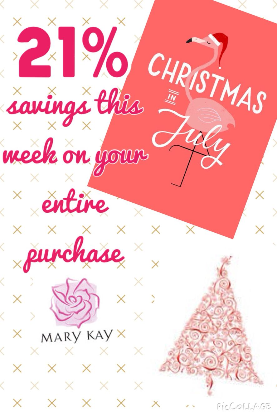 Christmas In July Sale Ideas.Pin On My Mary Kay Rebeccainvegas