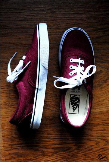 2f6315fa I love this maroon color.   Vans   Shoes, Vans sneakers, Shoe boots