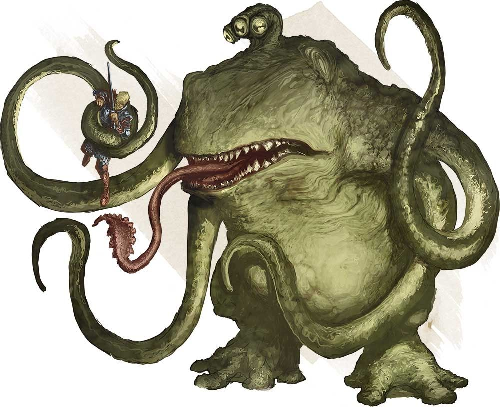 Monsters For Dungeons Dragons D D Fifth Edition 5e D D