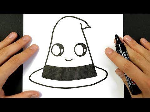 Comment Dessiner Un Chapeau De Sorcière Halloween Youtube