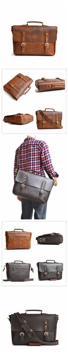 Big Briefcase Leath