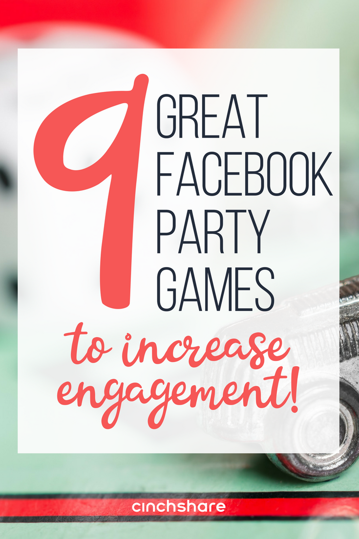 Games aren\'t just for in-home parties! Throw a fantastic Facebook ...