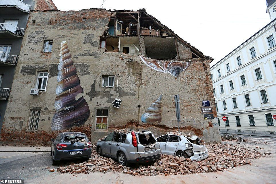 Tragedy 15 Year Old Boy Killed Dozens Injured After 5 3 Magnitude Earthquake Hits Croatia Ireporter Online In 2020 City Of Zagreb Croatia Earthquake