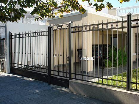 Cercos Fachadas de casas, Portões modernos, Casas