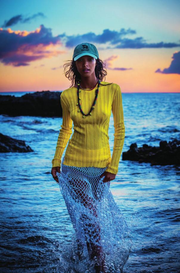 "modelsforvogue: "" Lais Ribeiro for Elle UK June 2014 Photographed by Enrique Badelescu """