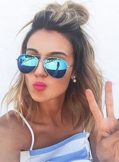 Looking For Beautiful Lob Hairstyles Browse Our Photo Gallery From Top Stylist And Find Styling Tips To Creat Hair Styles Short Hair Styles Medium Hair Styles