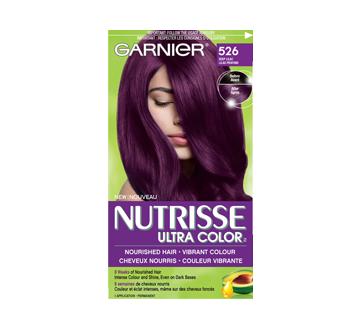 Nutrisse Ultra Color Coloration 1 Unite Dark Purple Hair Hair Color Plum Permanent Hair Color